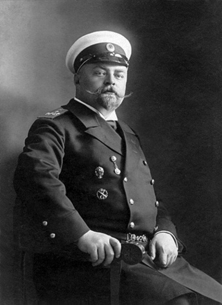 Načelnik Ekspedicije posebne namene, kapetan I ranga Svite Njegovog Imperatorskog veličanstva Mihail Vesjolkin