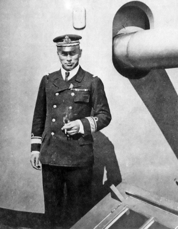 Zapovednik monitora, poručnik fregate Olaf Rihard Vulf