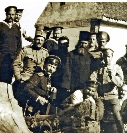 Pripadnici ruskog minsko-torpednog odreda u Beogradu