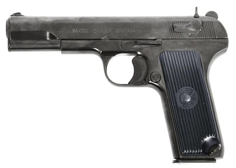 Komercijalni pištolj М-65/М-70-А 7,62х25mm i 9х19mm.