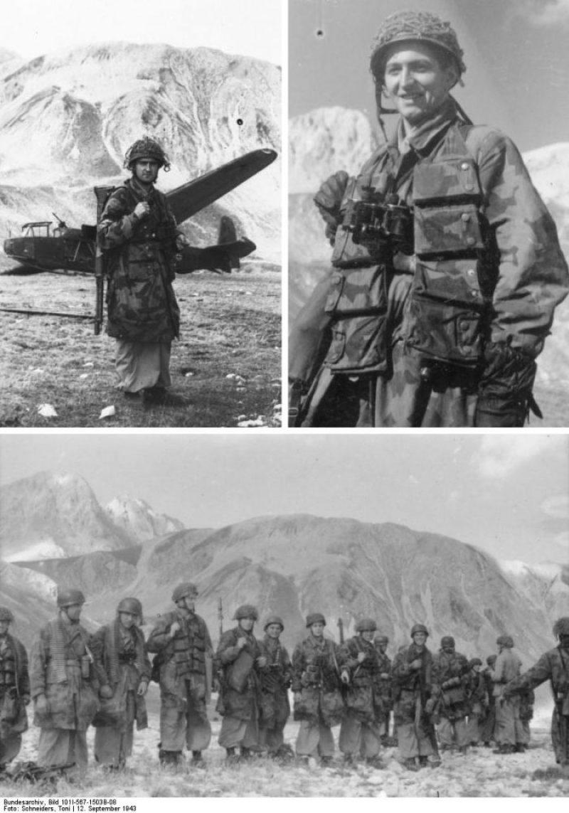 Operacija Gran Sasso - padobranci naoružani FG-42