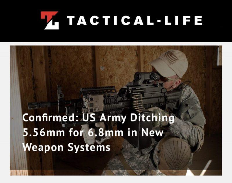 tactical life 6.8mm