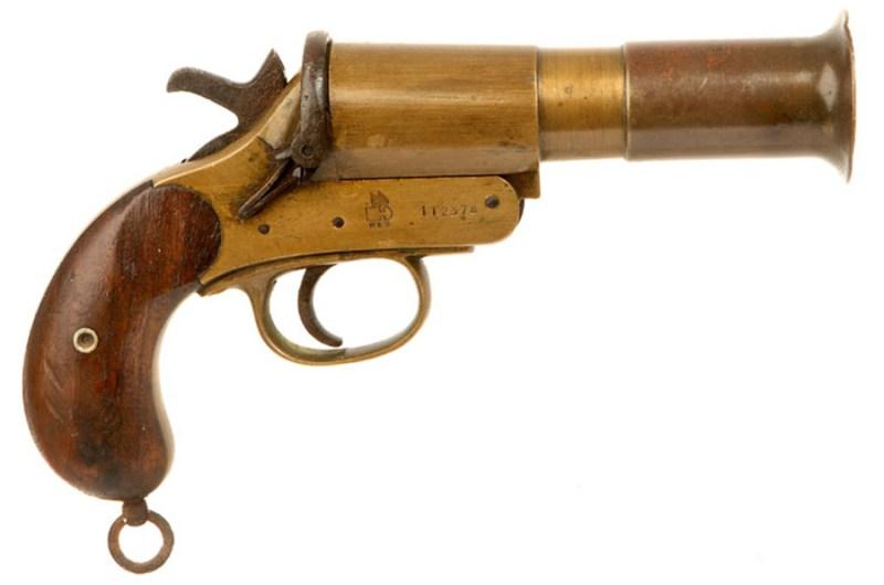 Britanski signalni pištolj Webley & Scott M1918 Mk-III