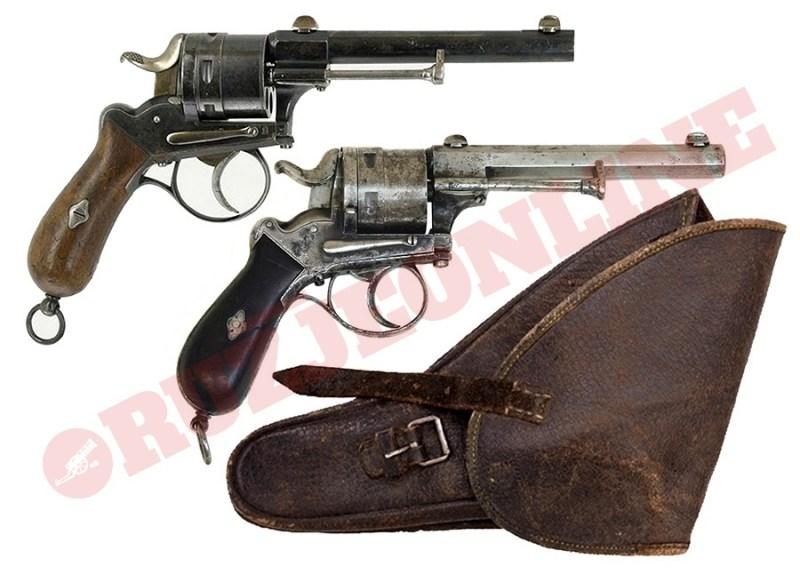 Revolver Frankt 11mm M1871
