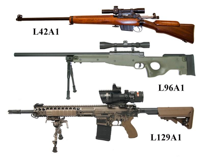 Britanski snajperi od 1970 do 2015