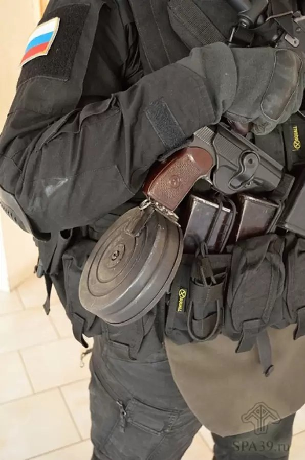 Makarov sa dobošastim okvirom kapaciteta 80 metaka
