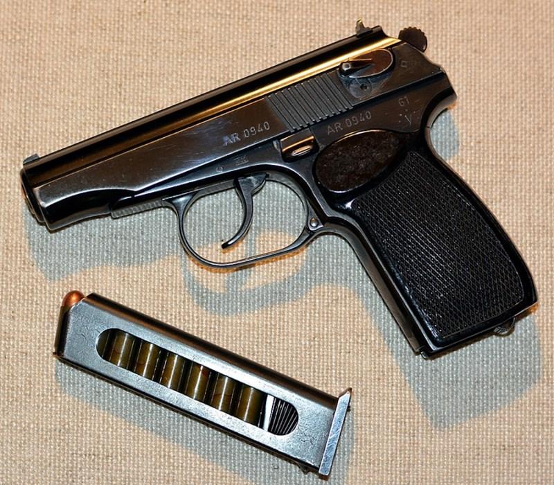 Istočnonemačka verzija Makarova - Pistole P