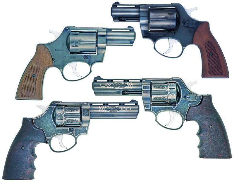 Revolveri R357 M83 sa cevima od 2-5 i 4''