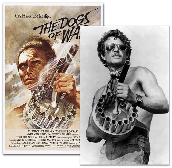 Menvilov bacac u filmu Psi rata iz 1980 godine