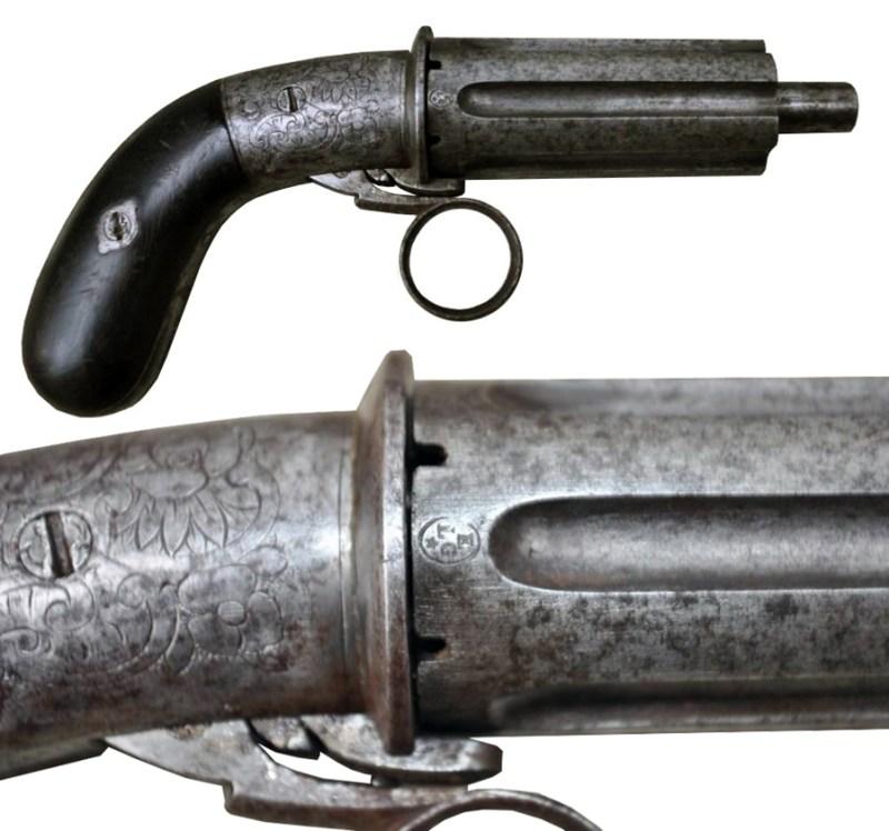 Marijetova ''bibernica'' na sjedinjenu municiju Lefoše sa ''iglicom''