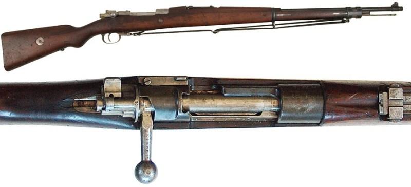 Puška meksička, 7 mm sistem Mauser M1912, proizvodnja OEWG, Steyr.