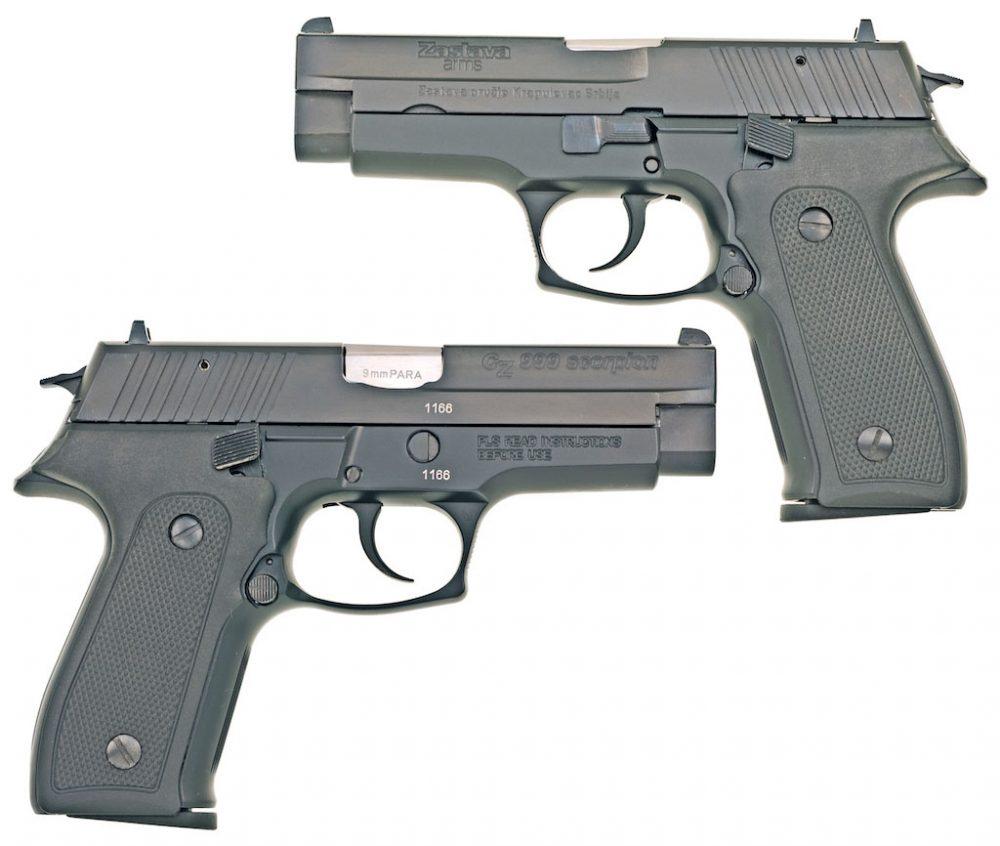 Pištolј 9 mm CZ-999 Scorpion