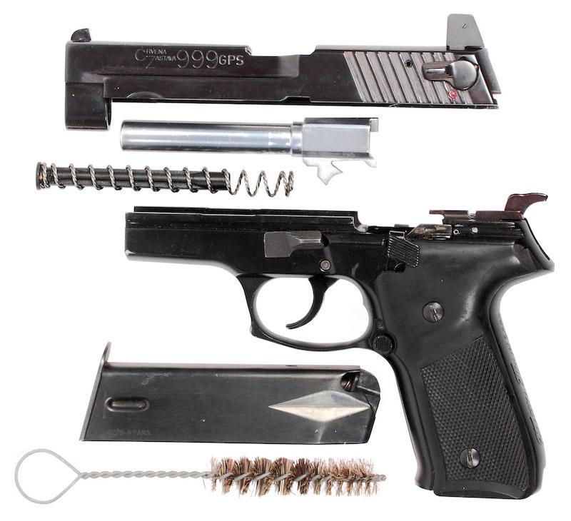 Raskloplјeni pištolј 9 mm CZ 999 GPS