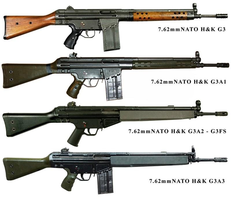 Varijante H&K G3