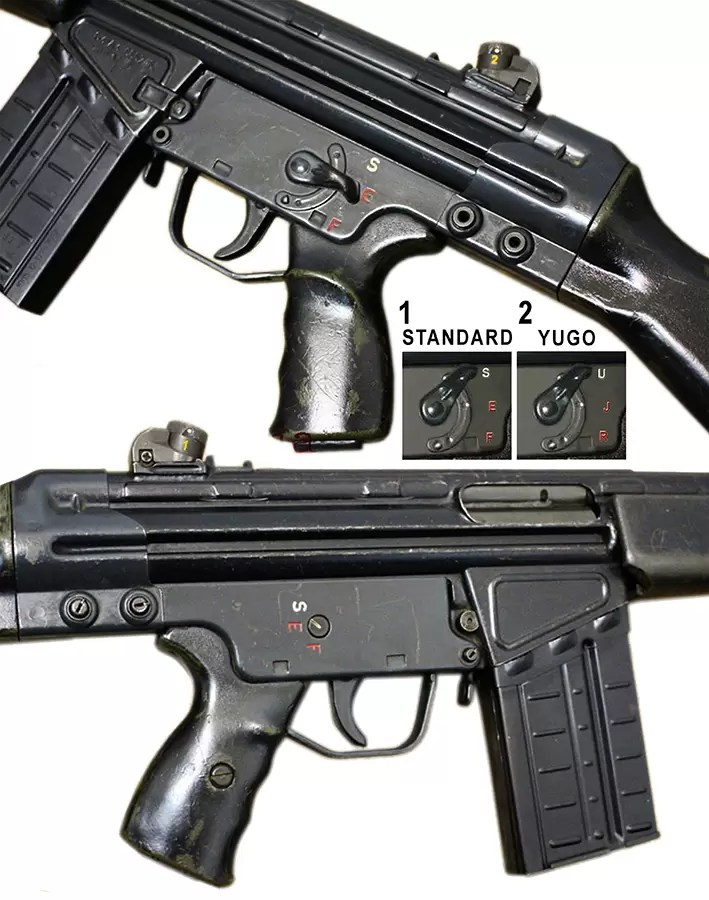 Oznake regulatora na domacem i originalnom HKG3ZF