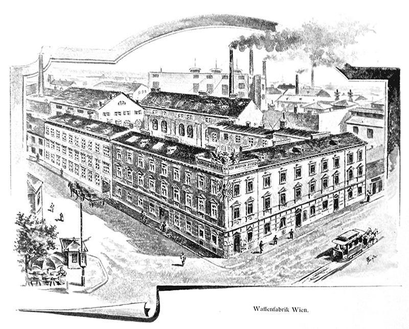 Fabrika Leopold Gasser's k. u. k. privilegierte Hof- und Armee-Fabrik, Ottakring, Beč