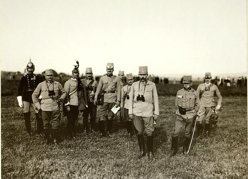 Franc Ferdinand navojnim manevrima, 24. juni 1914