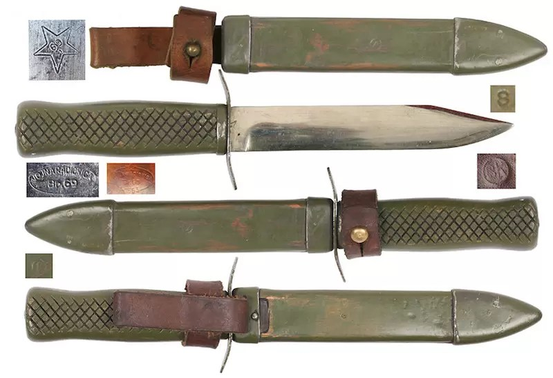 Noz jugoslovenski noz M1951
