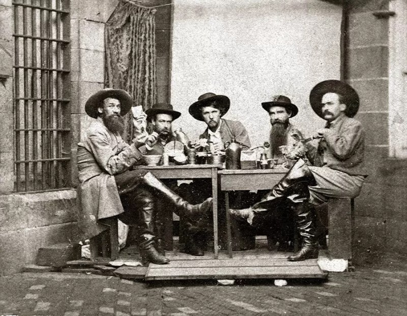 Morganovi rendžeri 1863 godine