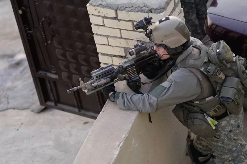 Borci 2. Bataljona rendžera tokom operacija u Iraku, 23 novembar 2006