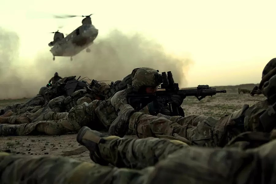 Rendžeri 1. bataljona 75. rendžerskog puka u Afganistanu, 13 februar 2012