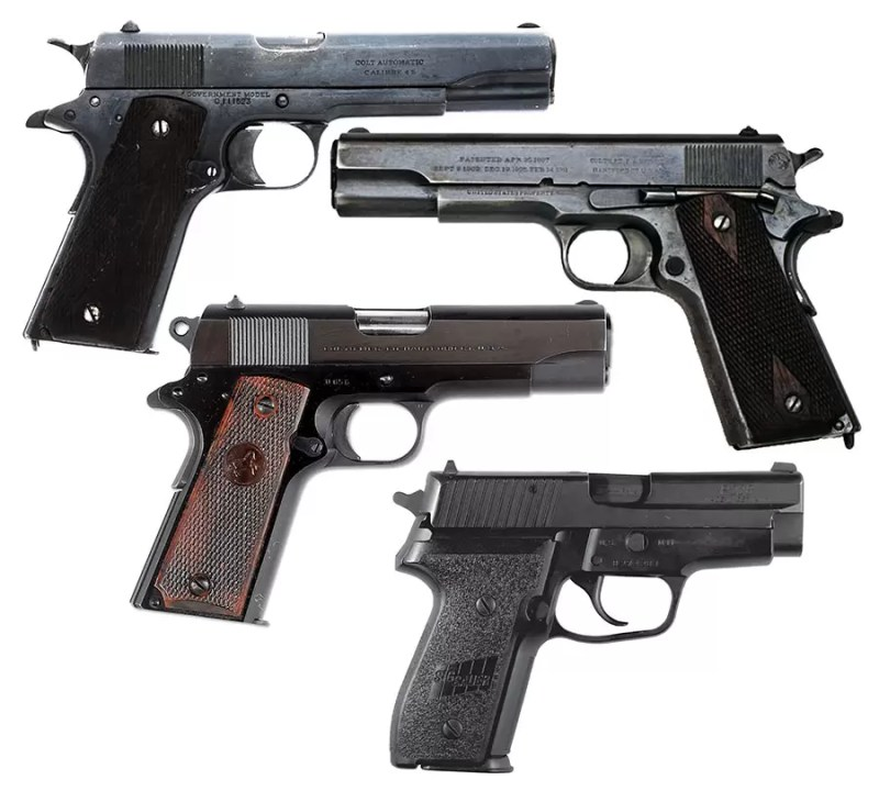 Pištolji Colt M1911, Colt Commander i SIG-Sauer P226