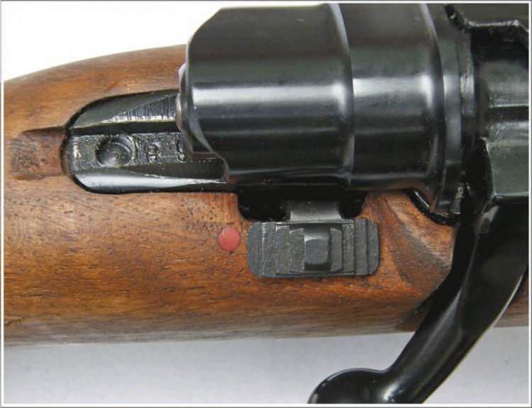 Detalj kočnice na karabinu Zastava M-70