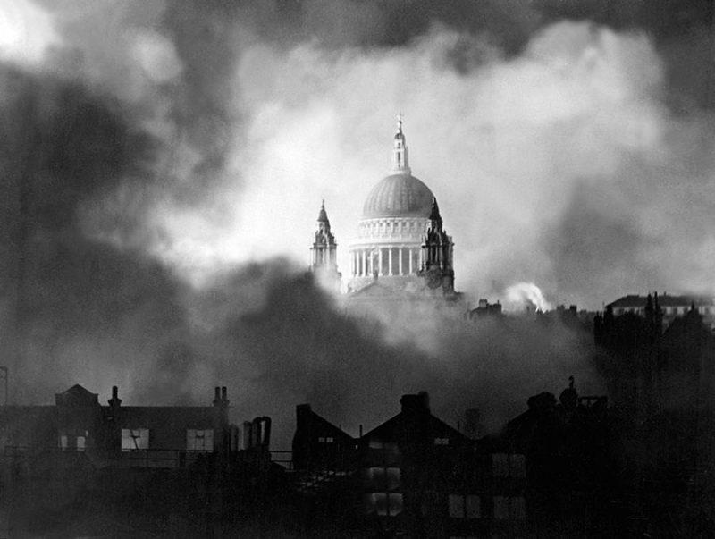 London katedrala Sv Pavla 1940
