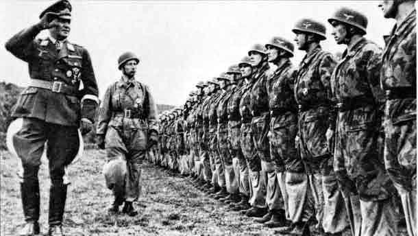 padobranci stroj nemci ww2
