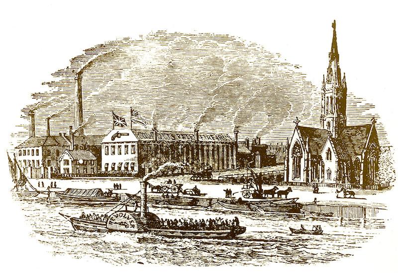 Koltova fabrika u Londonu