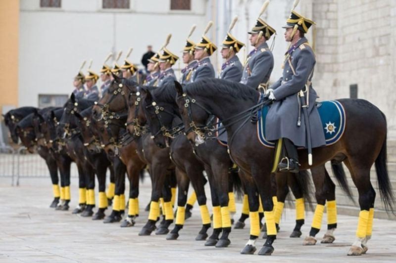 Konjicka straza Prezidentskog puka Kremlj 2017