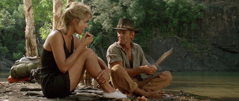 Paul Hogan kao Mick Dundee u Crocodile Dundee (1982)