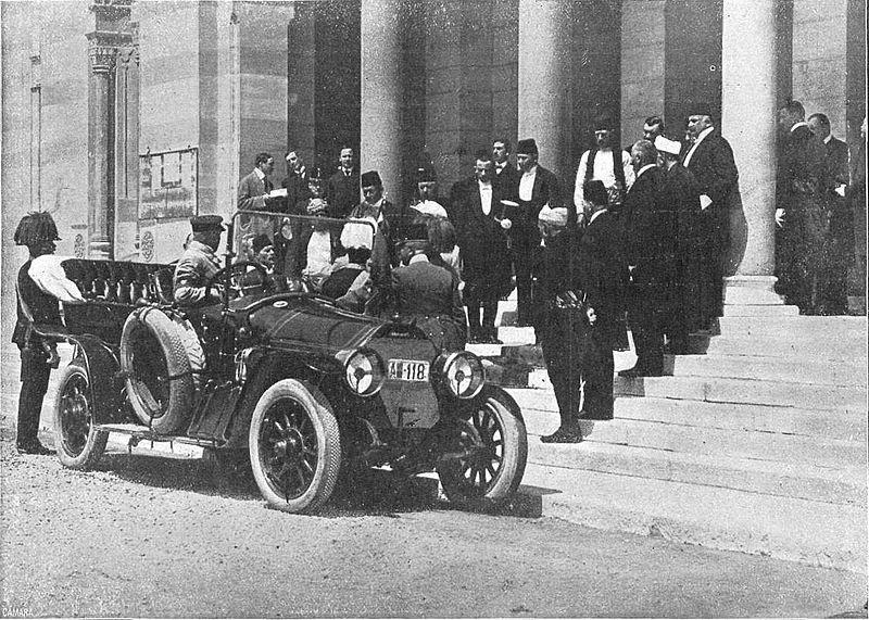 WWI Franz Ferdinand GRÄF & STIFT DOUBLE PHAETON