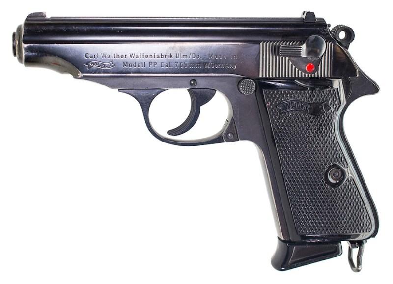 Standardni pištolj 7,65 mm Walther Polizei Pistole (PP)