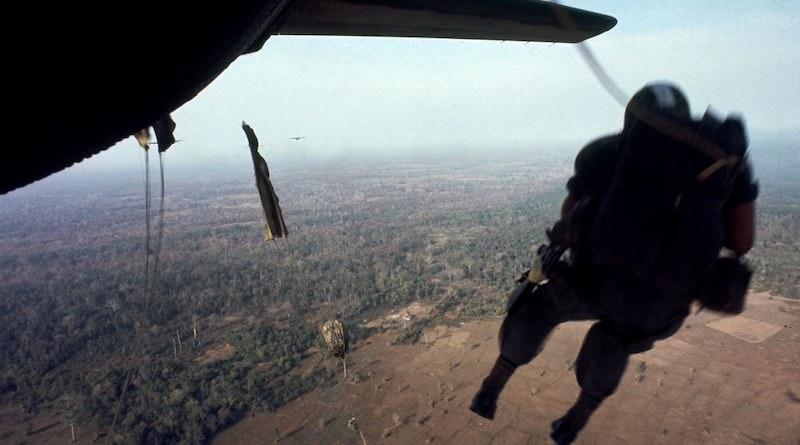 vietnam parachute jumps