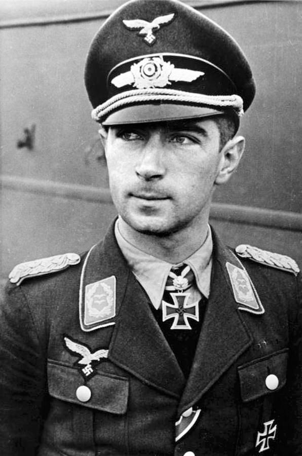 Jedan od privremenih vlasnika zlatnog Valtera – general Werner Mölders