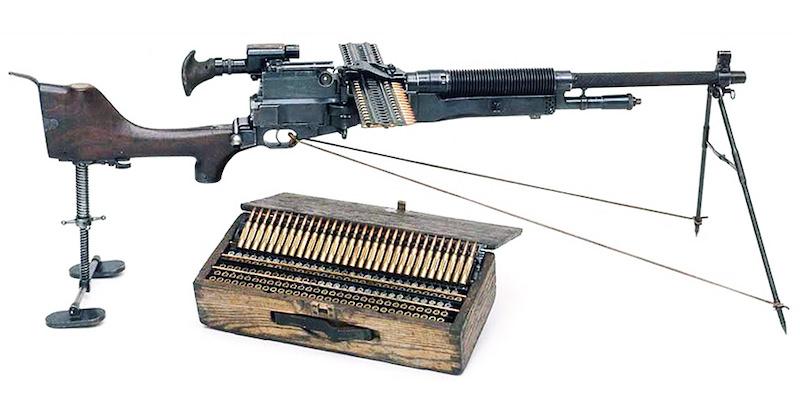 Ručni (laki) mitralјez 7mm Hotchkiss Mle.1909 Benet-Mercie