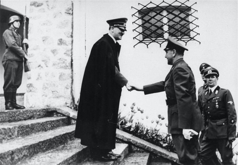 Ante Pavelić u poseti Hitleru, 15 juni 1941
