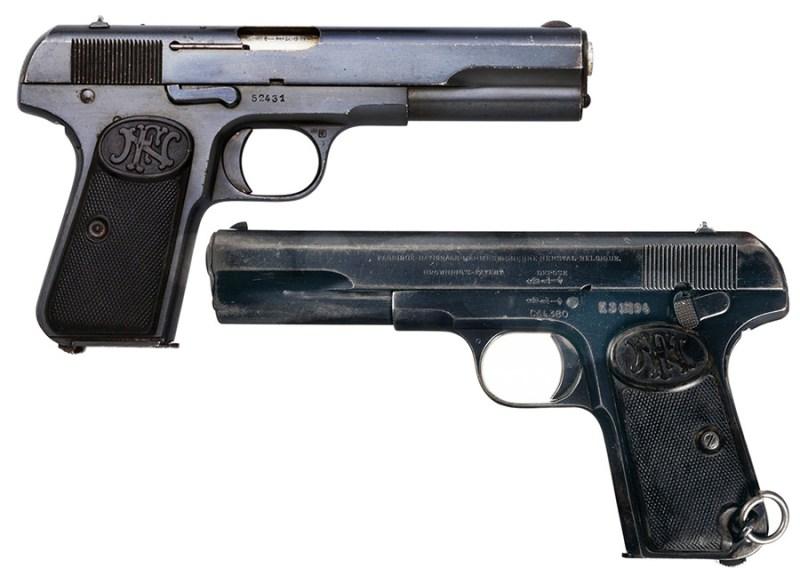 9 mm BL FN Browning M1903 proizvodnje Fabrique Natinale