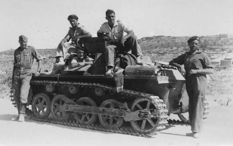 Legion Condor Spanski Panzer I