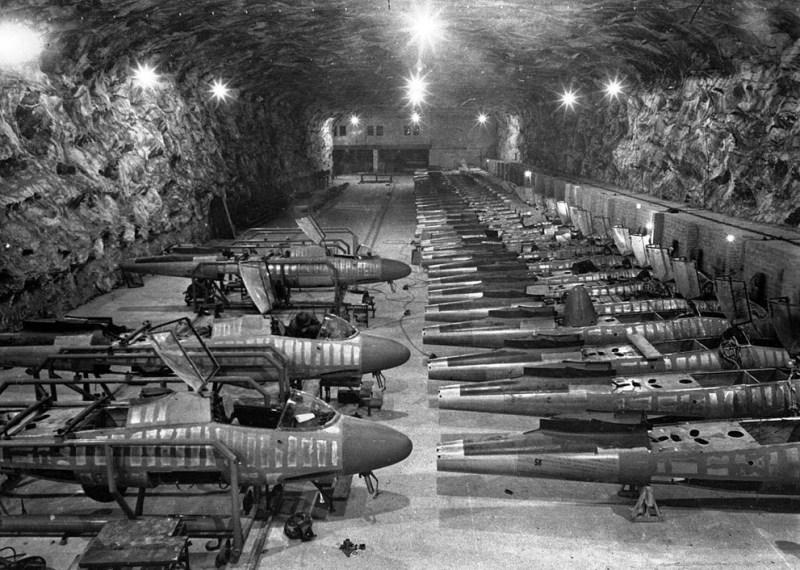 Masovna proizvodnja avionaHe-162
