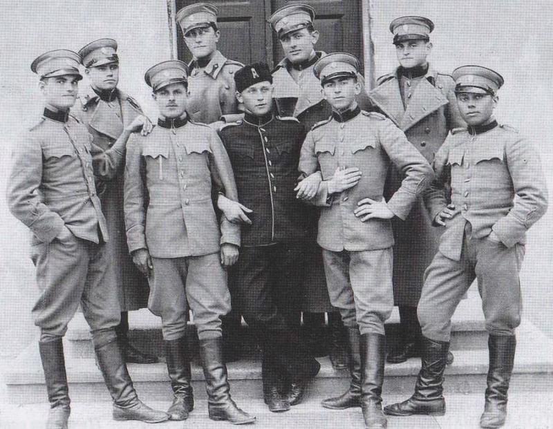 Garda, Dedinje,1934. godine