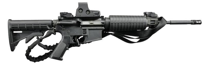 Bushmaster sa holografskim nisanom