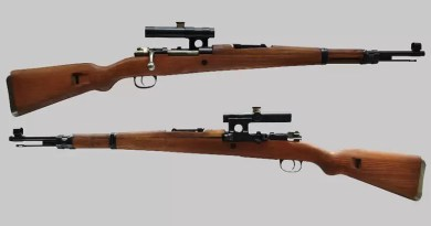 First Yugoslav sniper rifle – 7.9 mm М1953