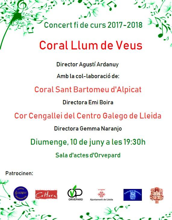 Concert Coral Llum de Veus