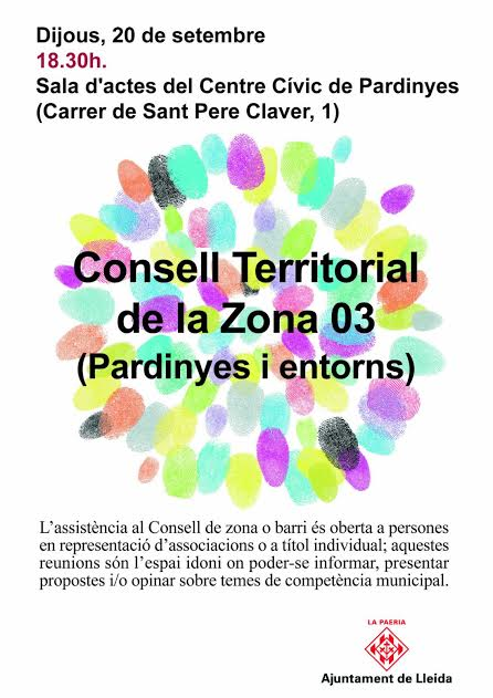 Consell Territorial Pardinyes i entorn