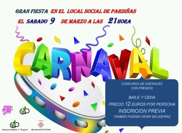 FESTA DE CARNAVAL 2019 🗓 🗺