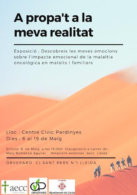 Exposició: A Propa't a la Meva Realitat