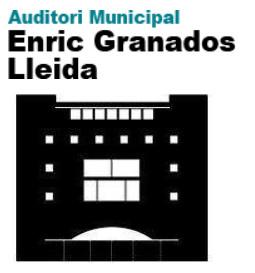 Auditori Municipal Enric Granados: Comunicat oficial