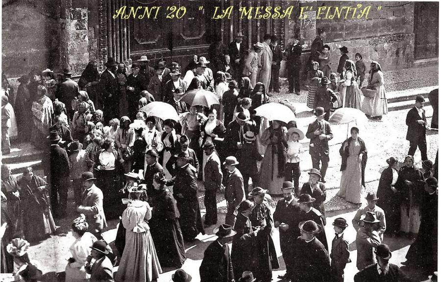 Anni Venti ad Orvieto. La messa è finita